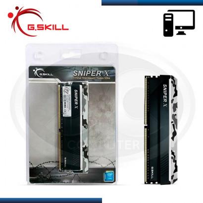 MEMORIA 8GB DDR4 (1x 8GB) G.SKILL RIP SNIPER X 3600MHz (N/P F4-3600C19S-8GSXW )