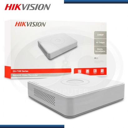 GRABADOR IP NVR HIKVISION 8 PTOS POE MINI (PN: DS7108NI-E1/8P )