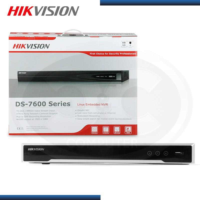 GRABADOR DS7616NI-K2/16P HIKVISION NVR 16 CANALES
