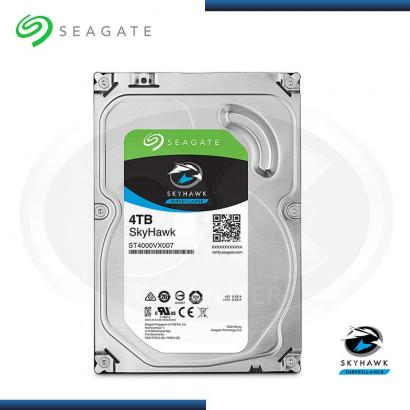 DISCO DURO 4TB SEAGATE SKYHAWK 5900 RPM, SATA3, 64MB ( ST4000VX007 )