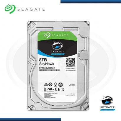 DISCO DURO 8TB SEAGATE SKYHAWK 5900 RPM, SATA3, 256MB ( ST8000VX0022 )