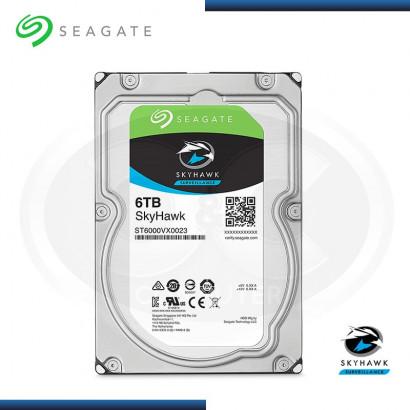 DISCO DURO 6TB SEAGATE SKYHAWK 5900 RPM SATA3  256MB MOD:ST6000VX0023