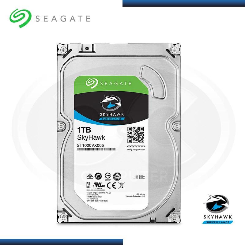 DISCO DURO 1TB SEAGATE SKYHAWK SATA3 (PN:ST1000VX005)