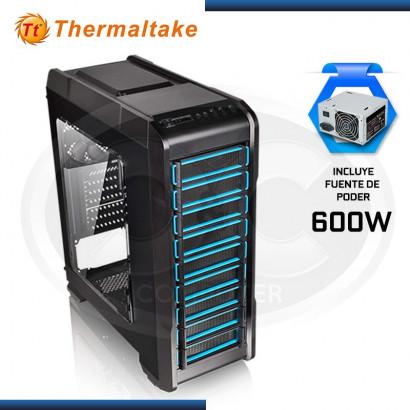 CASE THERMALTAKE VERSA N23 BLACK + FUENTE 600W (PN: CA-3E2-60M1WU-01 )