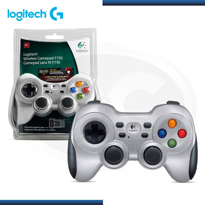 GAMEPAD LOGITECH F710 WIRELESS USB (PN:940-000117)