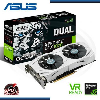 ASUS GEFORCE GTX 1070 DUAL 8GB OC GDDR5 (PN: 90YV09T1-MONA00 )