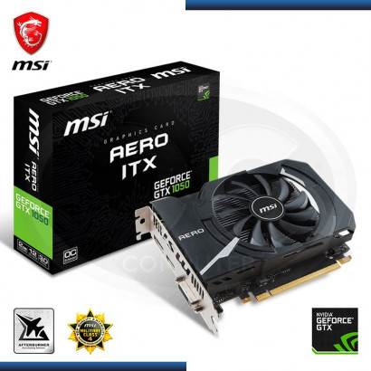 MSI GEFORCE GTX 1050 AERO ITX 2GB OC GDDR5 128 BIT (PN: 912-V809-2455)