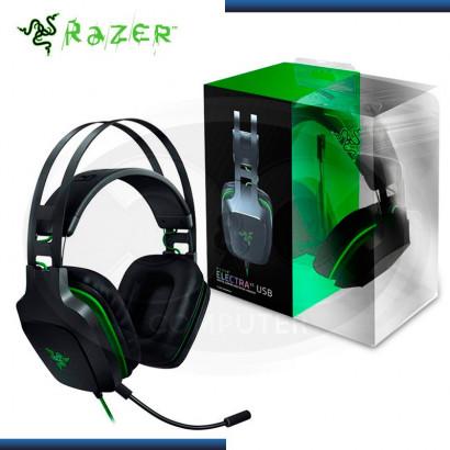 AUDIFONO C/MICROF. RAZER ELECTRA V2 7.1 USB DIGITAL GAMING BLACK/GREEN (N/P RZ04-02220100 )