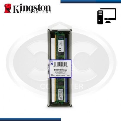 MEMORIA 2GB DDR2 KINGSTON BUS 800MHz (PN:KVR800D2N6/2G)