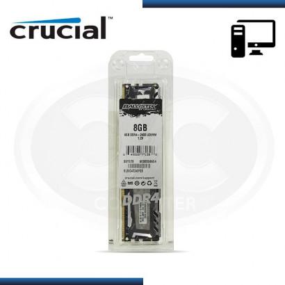 MEMORIA CRUCIAL BALLISTIK SP DDR4 8GB 2400 MHZ /1.5V (BLS8G4D240FSB)