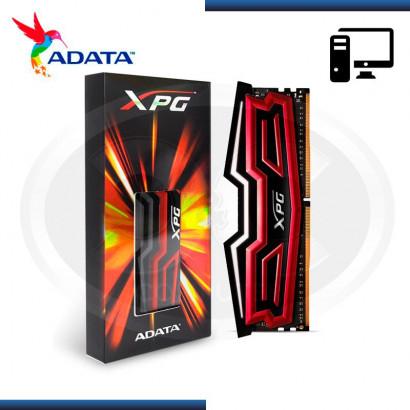 MEMORIA ADATA XPG DAZZLE DDR4 8GB BUSS 3000MHZ, LED RED 1.35 V (AX4U3000W8G16-SRD)