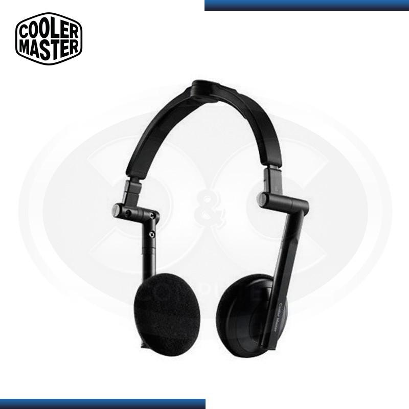 AUDIFONO COOLER MASTER HS-500 BLACK CON MICROFONO