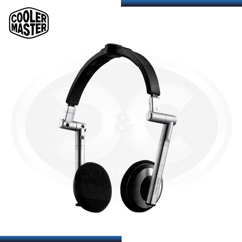 AUDIFONO COOLER MASTER HS-500 SILVER CON MICROFONO