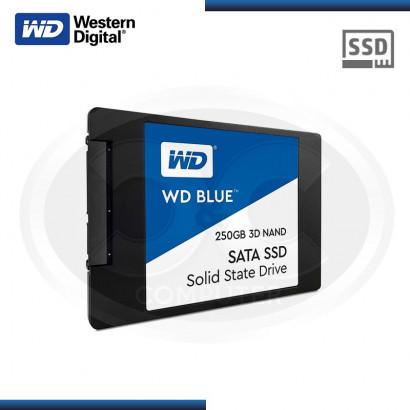 "DISCO DURO SOLIDO WESTER DIGITAL BLUE 250GB /GO 2.5"" SATA3 6GB/s (PN: WDS250G2B0A )"