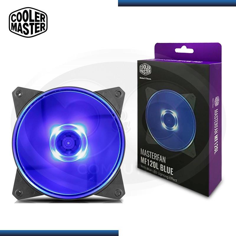 COOLER DE CASE COOLER MASTERFAN MF120L BLUE LED (PN:R4-C1DS-12FB-R1)