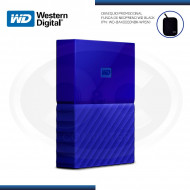 "DISCO DURO WESTERN DIGITAL EXTERNO 1TB MY PASSPORT 2.5"" BLUE USB 3.0 (PN:WDBYNN0010BBL-0B)"