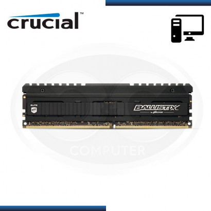 MEMORIA CRUCIAL BALLISTIX ELITE DDR4 8GB BUS 3466 MHZ 1.35V, MOD:BLE8G4D34AEEAK