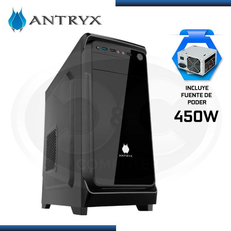 CASE ANTRYX E230 PLUS XTREME CON FUENTE B450W ATX USB 3.0 USB 2.0