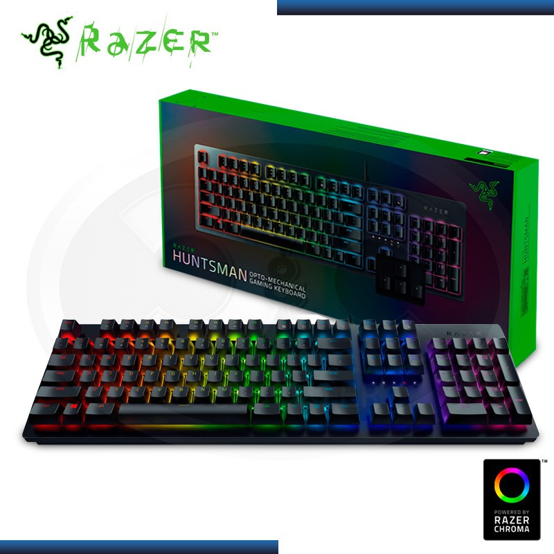 TECLADO RAZER HUNTSMAN CHROMA OPTO-MECHANICAL ESPAÑOL