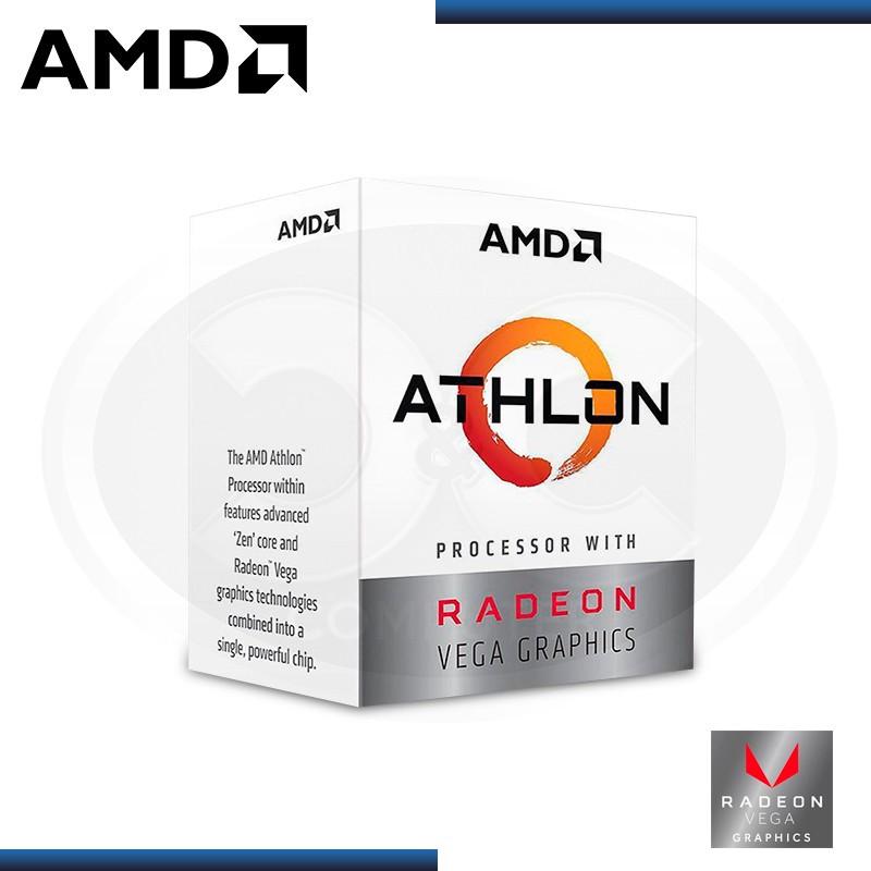 PROCESADOR AMD ATHLOM 200GE 3.2GHZ/5MB AM4 (PN:YD200GC6FBBOX)