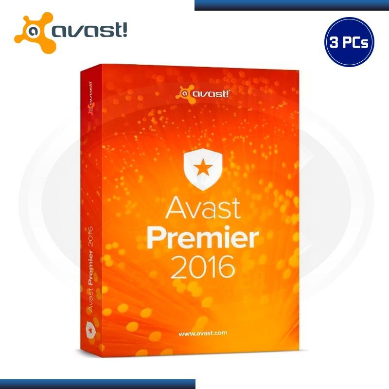 AVAST PREMIER 2016 3PC