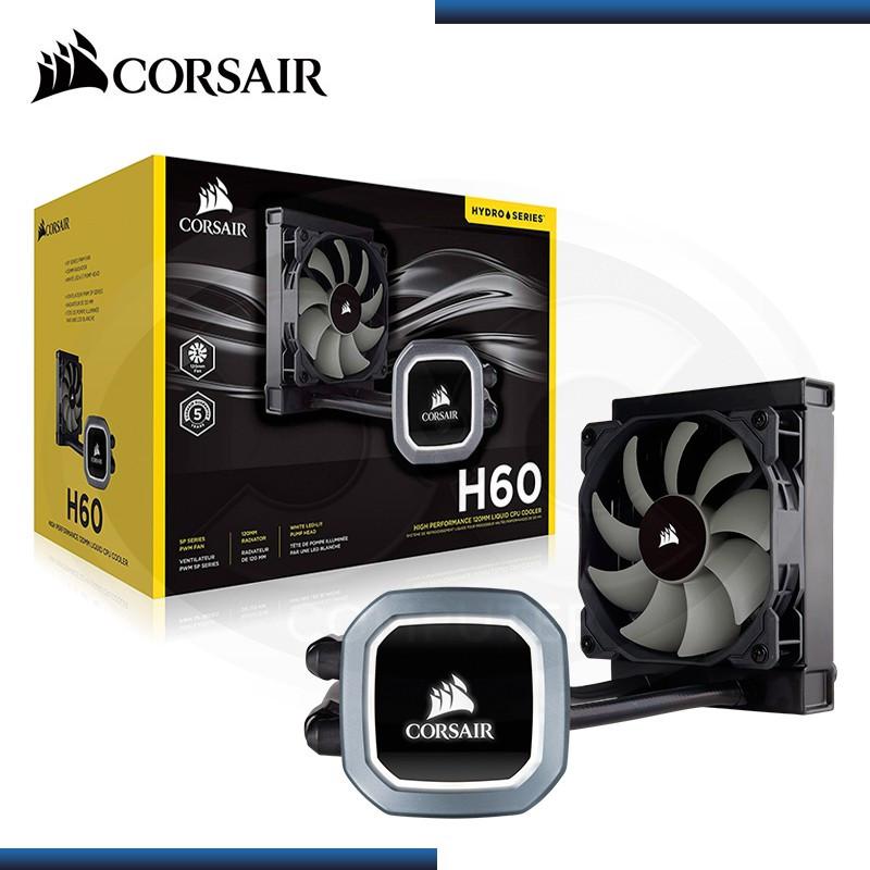 COOLER CORSAIR H60 (2018) PARA CPU LIQUIDO 120MM BLACK (PN:CW-9060036-WW)