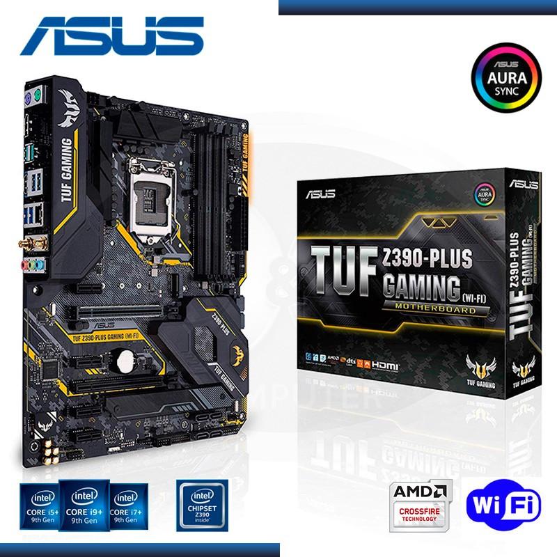 MB ASUS TUF Z390 PLUS GAMING WI-FI DDR4 LGA 1151 (PN:90MB0Z90-M0AAY0)