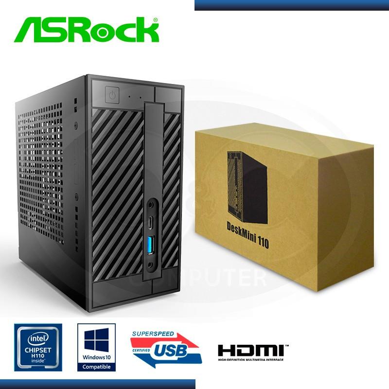 MINI PC ASROCK 110W BAREBONE WIFI (PN:90BXG2T01-A20BA0W)
