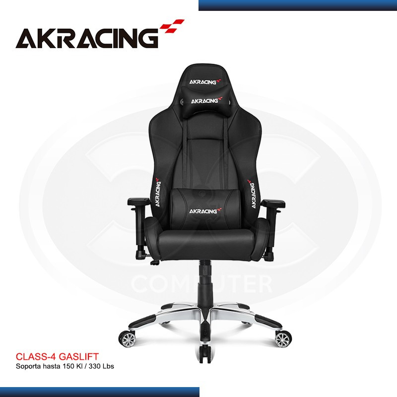 SILLA AKRACING TOTAL BLACK PREMIUM GAMING (PN:AK-7002-BB)
