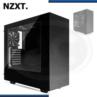 CASE NZXT S340 BLACK MID TOWER SIN FUENTE USB 3.0 (PN:CA-S340W-B1)