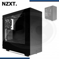 CASE NZXT S340 BLACK USB 3.0, SIN FUENTE, MID TOWER (PN: CA-S340W-B1 )