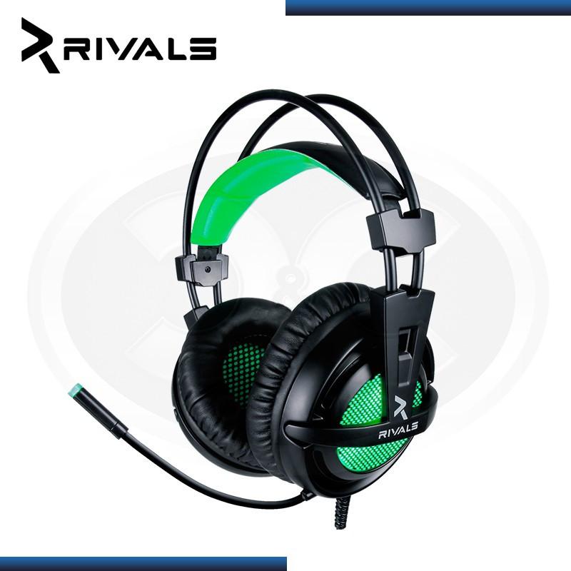 AURICULAR RIVALS REQUIEM PRO GREEN 7.1 USB GAMING