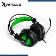 AURICULAR GAMER RIVALS REQUIEM PRO GREEN 7.1 / USB .