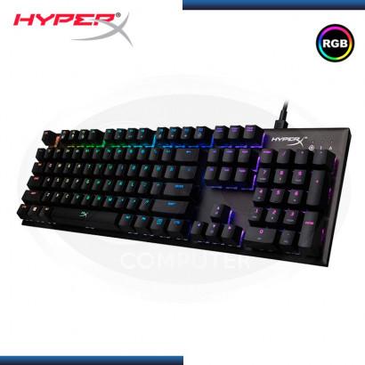 TECLADO GAMER HYPERX ALLOY FPS SILVER , MECÁNICO, RGB  ESPAÑOL USB (PN: HX-KB1SS2-LA )