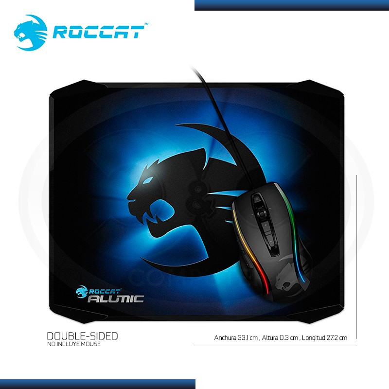 PAD MOUSE ROCCAT ALUMIC PARA GAMING 331 x 272MM (PN:ROC-13-400)