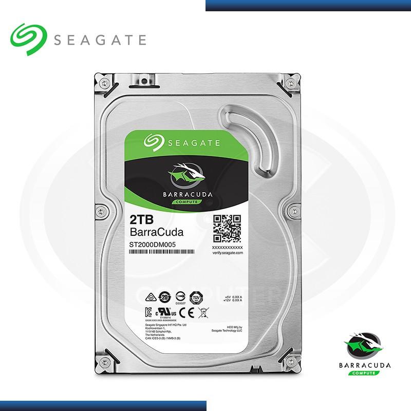 DISCO DURO 2TB SEAGATE BARRACUDA SATA3 (PN:ST2000DM005)