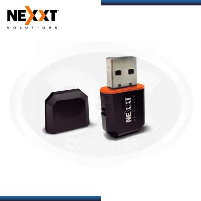 ADAPTADOR USB INALAMBRICO NEXXT LYNX 600 MINI, 600 MBPS 2.4 /5GHZ BLACK MOD:AULUB605U1