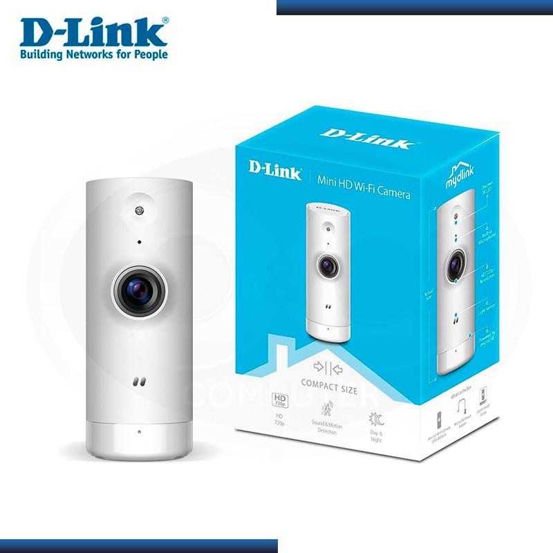 MINI CAMARA IP DCS-8000LH VIGILANCIA WIFI D-LINK HD (PN:080000968)