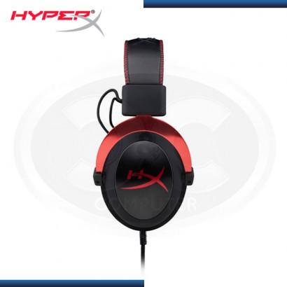 AUDIFONO HYPERX CLOUD II BLACK RED CON MICROFONO (PN:KHX-HSCP-RD)