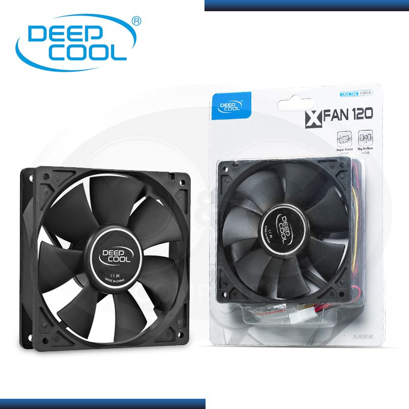 DEEPCOOL XFAN 120 120mm COOLER PARA CASE