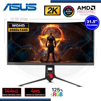 """MONITOR LED 31.5"""" ASUS XG32VQ ROG STRIX GAMING CURVO 2K 2560x1440 HDMI DP USB 4MS/144Hz/FREESYNC"""