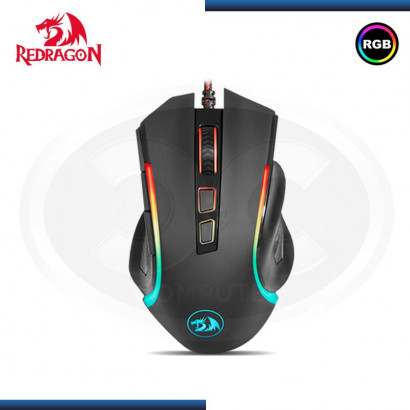 MOUSE GAMER REDRAGON M607 GRIFFIN RGB | 7200 DPI | NEGRO | USB (N/P M607 )