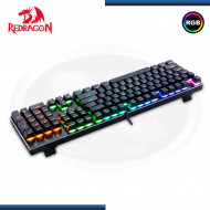 TECLADO GAMER REDRAGON DEVARAJAS K556RGB / SWITCHES OUTEMU BROWN / USB (N/P K556RGB-SP )