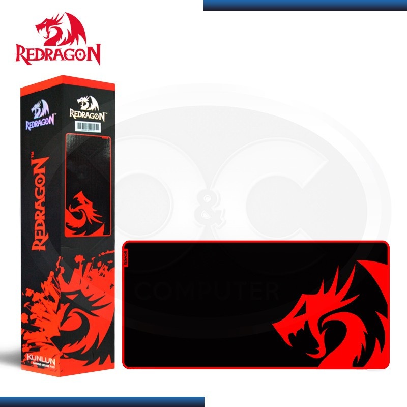 PAD MOUSE REDRAGON KUNLUN P006 L SPEED NEGRO 880x420x4mm