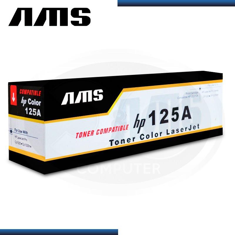 TONER AMS COMPATIBLE HP 125A CYAN (CB541A)