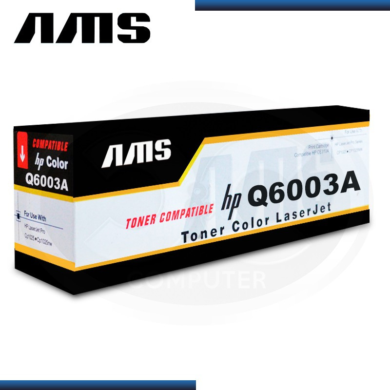 TONER AMS COMPATIBLE HP Q6003A MAGENTA