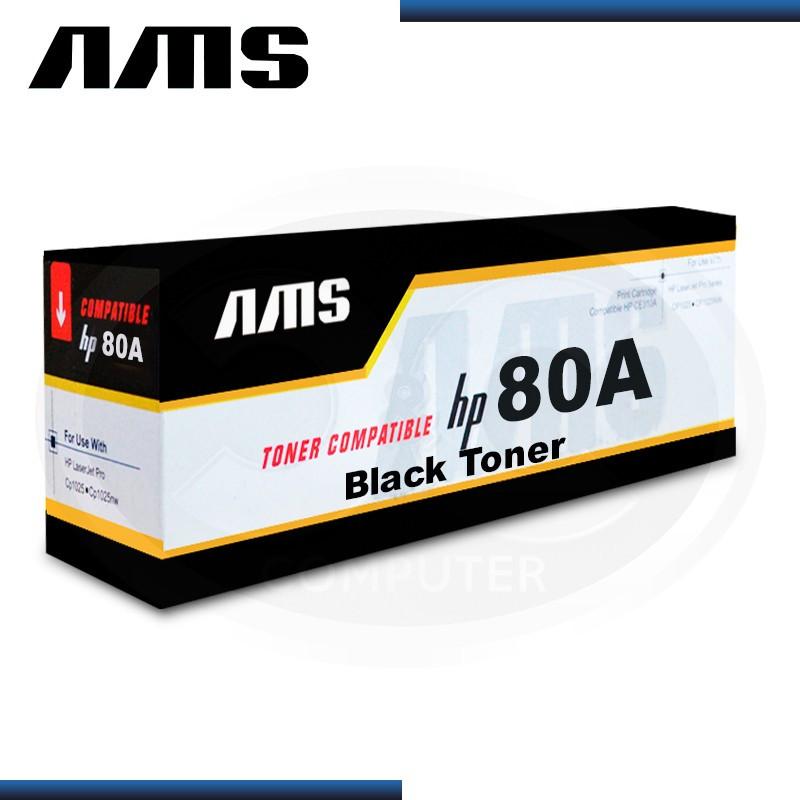 TONER AMS COMPATIBLE HP 80A BLACK CF280A