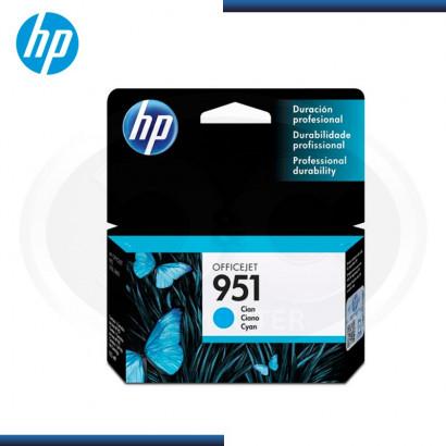 TINTA HP Nª 951 (CN050AL) 8100/8600 CYAN ( 700 PAG )