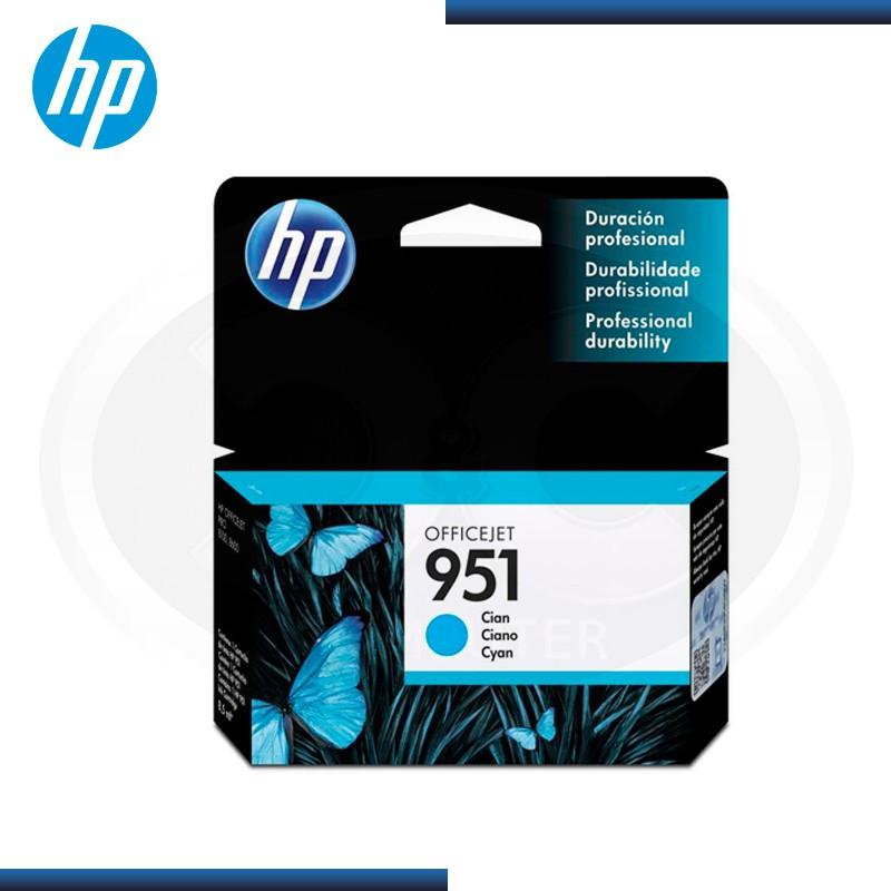 TINTA HP 951 CYAN (PN:CN050AL)