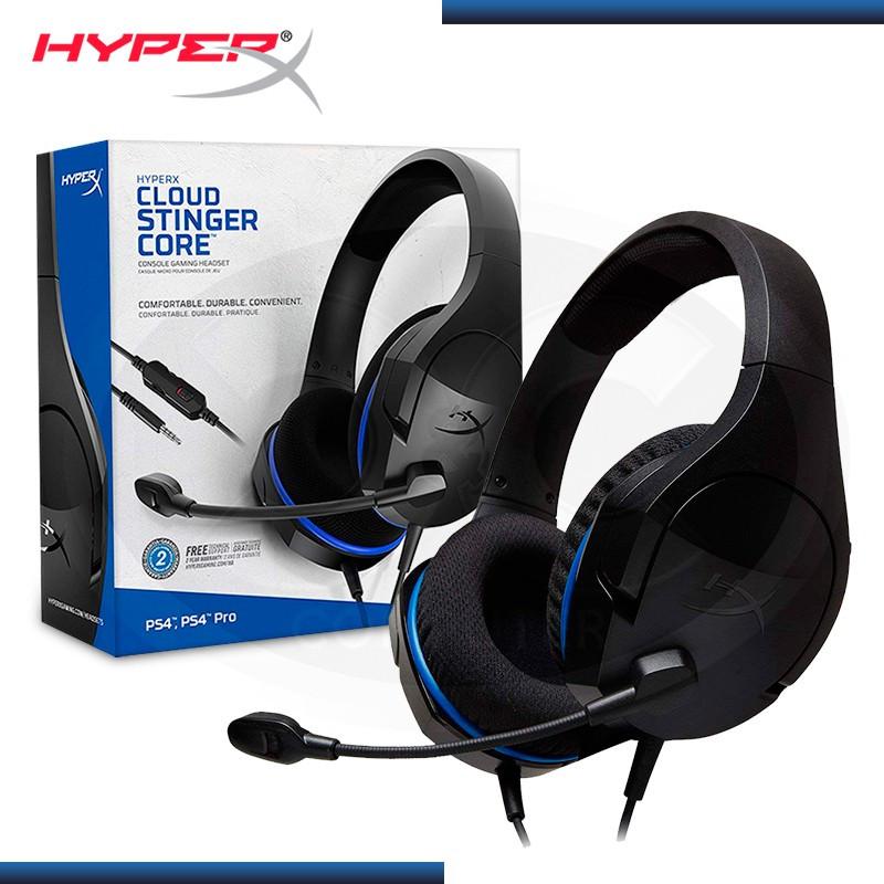 AUDIFONO HYPERX CLOUD STINGER CORE CON MICROFONO PS4 XBOX ONE NINTENDO SWITCH (PN:HX-HSCSC-BK)
